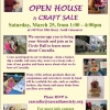 Cascadia Open House/Craft Sale TOMORROW March 25