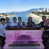 Our Piano is on the Burrard Street Bridge!