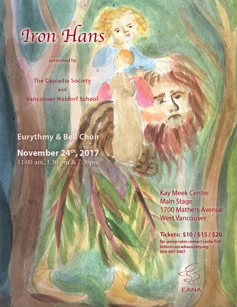We are almost ready! Please DO come and see our fairytale of Iron Hans on Friday November 24th!